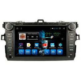 """Штатное головное устройство для Toyota Corolla E150 Экран 8"""""""