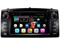 Штатное головное устройство для Toyota Corolla E120 на OS Android 7.1.1