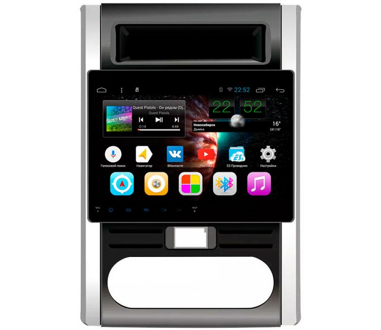 Штатное головное устройство на OS Android 9.0.1 для Nissan X-Trail T31