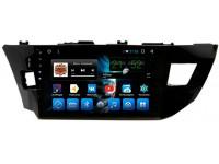 Штатная мультимедийная система на OS Android 7.1.1 для Toyota Corolla E180