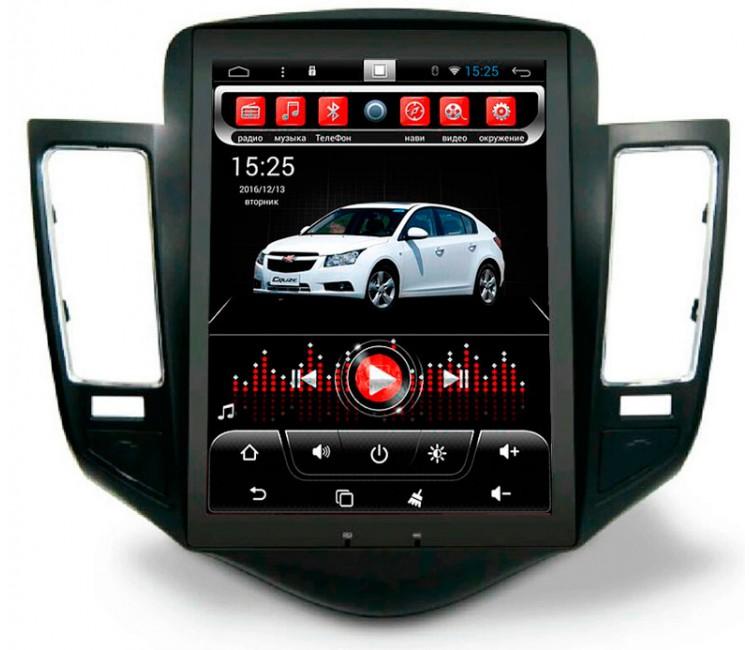 Штатное головное устройство OS Android 6.0 для Chevrolet Cruze