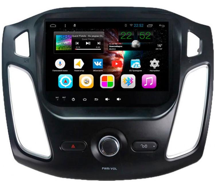 Штатное головное устройство для Ford Focus III на OS Android 7.1.1