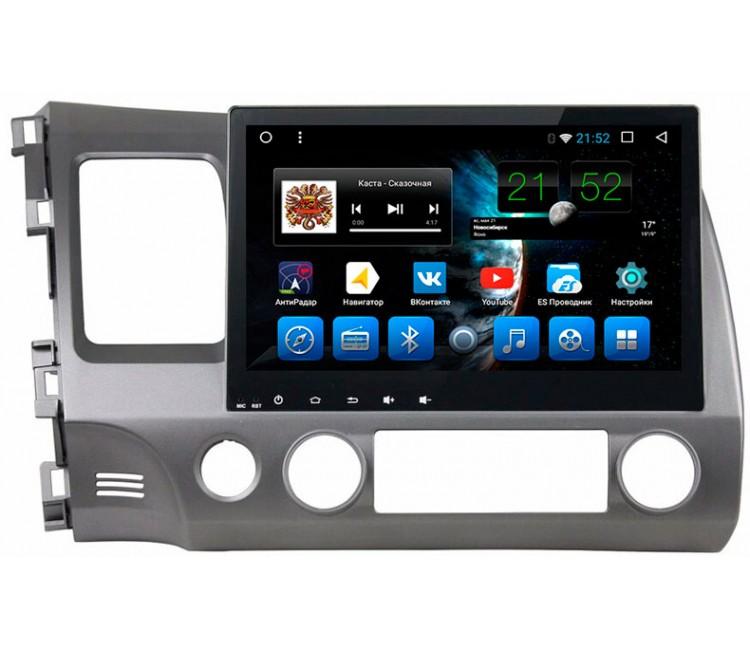 Штатное головное устройство на OS Android 7.1.1 для Honda Civic Sedan