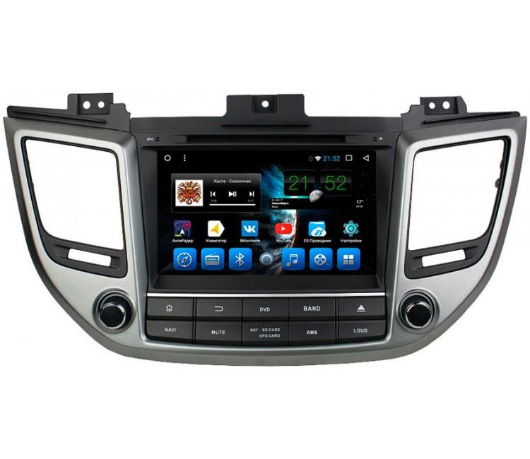 Штатное головное устройство для Hyundai Tucson на OS Android 10.1