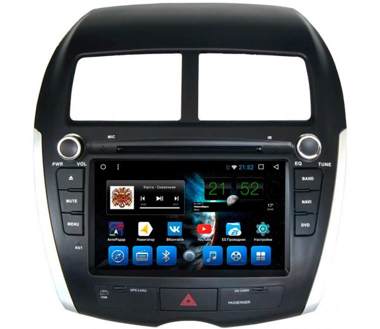 Штатное головное устройство Mstar на OS Android 10.1 для Mitsubishi / Peugeot / Citroen