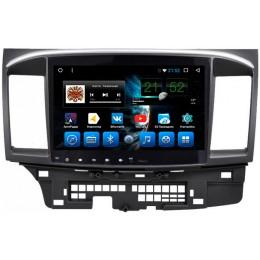 """Штатное головное устройство для Mitsubishi Lancer X Экран 10,1"""""""