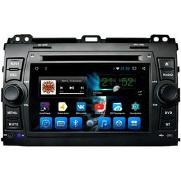 """Штатное головное устройство для Toyota LC Prado 120 Экран 7"""""""