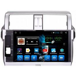 """Штатное головное устройство для Toyota LC Prado 150 2013-2017 Экран 10,1"""""""