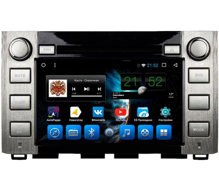 Штатное головное устройство Toyota Tundra на OS Android 10.1