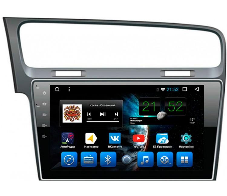 Штатное головное устройство на OS Android 7.1.1 для VW Golf