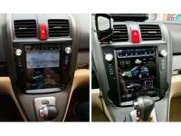 Штатное головное устройство в стиле Tesla для Honda CR-V на OS Android 9.0.1, Super Audio
