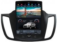 Штатное головное устройство в стиле Tesla для Ford Kuga на OS Android 8.0.1