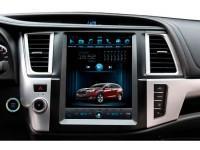 Штатное головное устройство для Toyota Highlander XU50 на OS Android 9.0.1