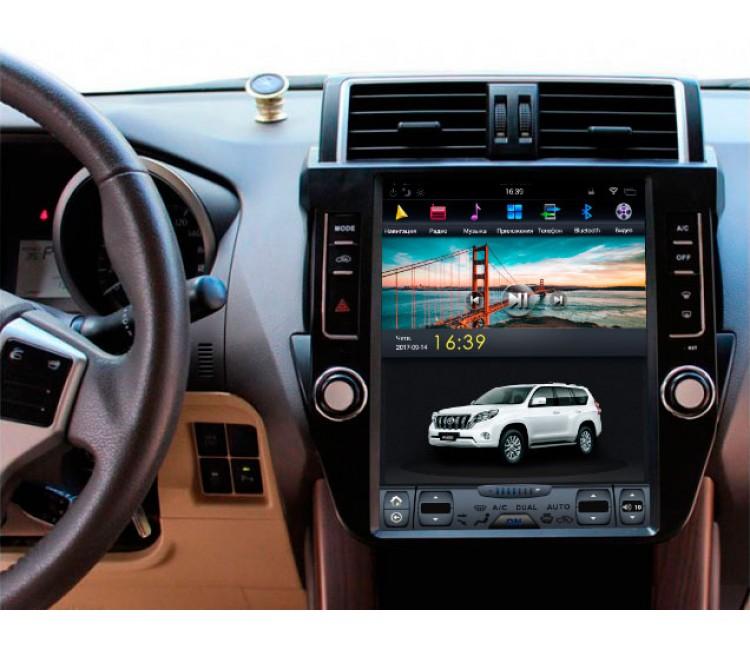 Штатное головное устройство для Toyota Land Cruiser Prado 150 на OS Android 9.0.1