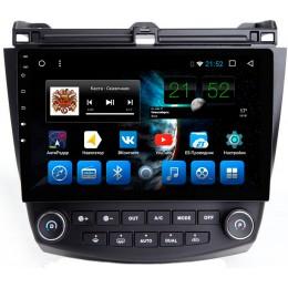 """Штатное головное устройство для Honda Accord 7 Экран 10,1"""""""