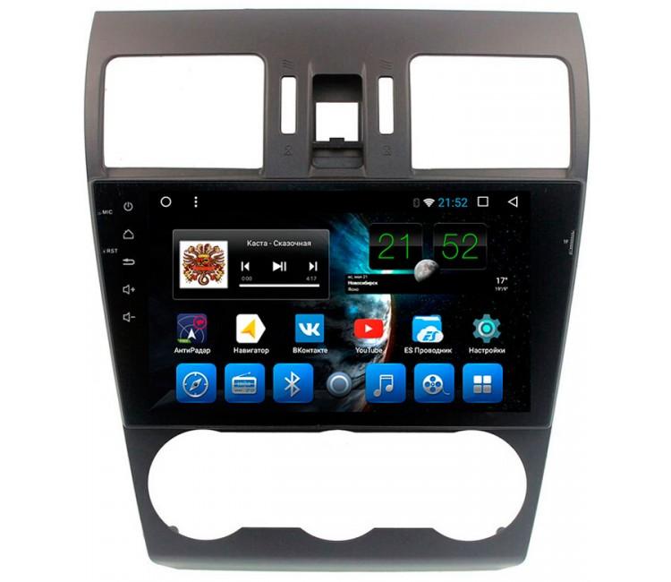 "Штатная мультимедийная система Mstar на OS Android 7.1.1 для Subaru XV, Forester, Impreza Экран 9"""