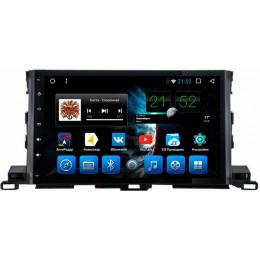 """Штатное головное устройство для Toyota Highlander XU50 Экран 10,1"""""""