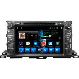 """Штатное головное устройство для Toyota Highlander XU50 Экран 9"""""""
