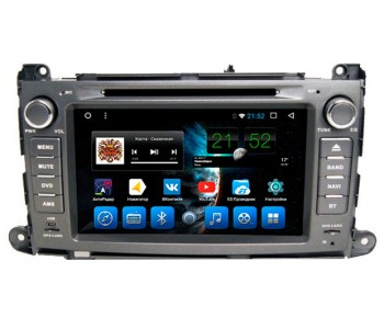 """Штатное головное устройство для Toyota Sienna Экран 8"""""""