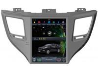 Штатное головное устройство в стиле Tesla для Hyundai Tucson на OS Android 9.0.1