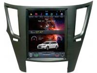 Штатное головное устройство в стиле Tesla для Subaru Legacy, Outback на OS Android 8.0.1 ч