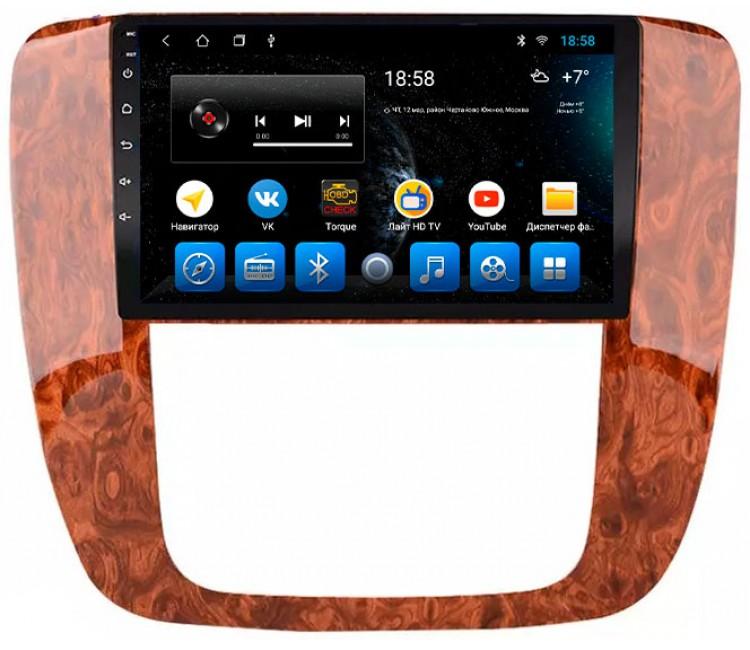 Штатное головное устройство на OS Android 9.0.1 для Chevrolet Tahoe