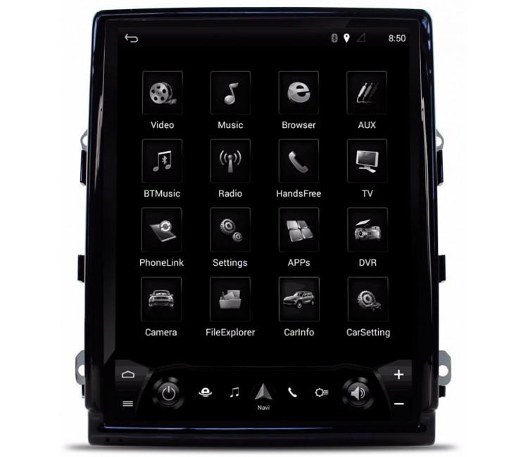 Штатная мультимедийная система в стиле Tesla для Porshe Cayenne II
