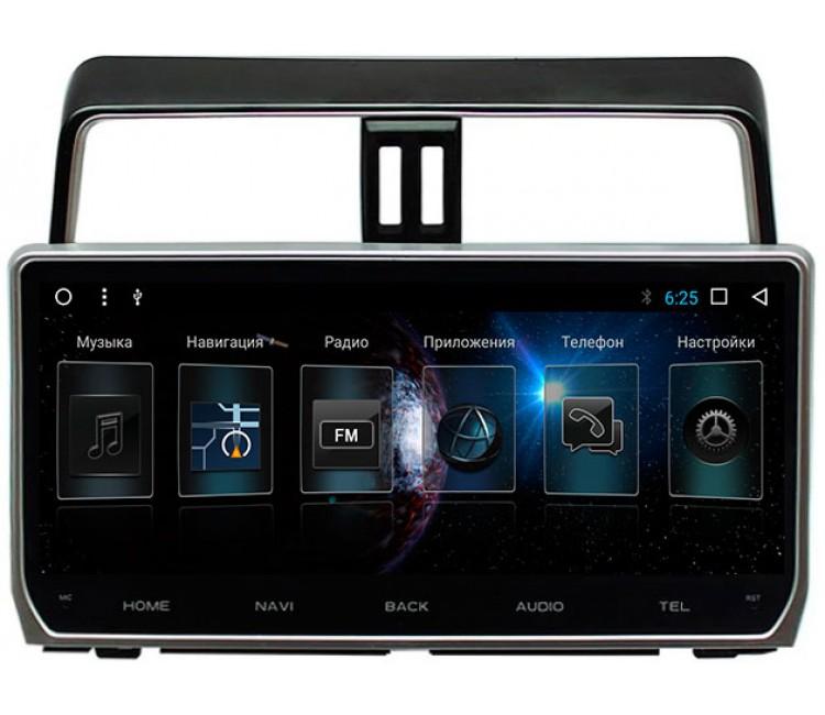 Штатная мультимедийная система для Toyota Prado 150 III OS Android 8.0.1