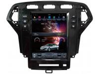 Штатная мультимедийная система в стиле Tesla для Ford Mondeo IV на OS Android 9.0.1