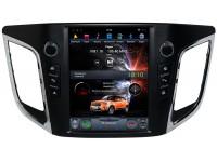 Штатное головное устройство в стиле Tesla для Hyundai Creta на OS Android 9.0.1, Super Audio