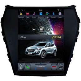 """Штатное головное устройство для Hyundai SantaFe III 2012-2018 Экран 10,4"""""""