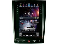 Штатная мультимедийная система в стиле Tesla на OS Android 9.0.1 для Lexus GS Серый, Super Audio