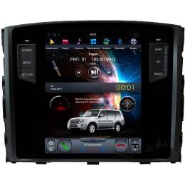 """Штатное головное устройство для Mitsubishi Pajero IV Экран 10,4"""""""