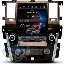 """Штатное головное устройство для Nissan Patrol Y62 Экран 12,1"""""""