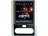 Штатное головное устройство в стиле Тесла для Nissan X-Trail T31 на OS Android 9.0.1