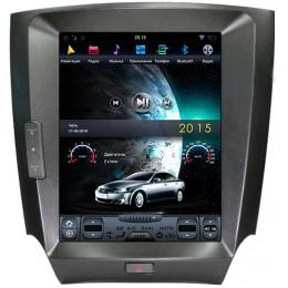 """Штатное головное устройство для Lexus IS Экран 10,4"""""""