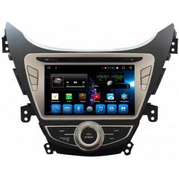 """Штатное головное устройство для Hyundai Elantra 2010-2013 Экран 8"""""""