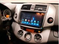 Штатное головное устройство на OS Android 9.0.1 для Toyota Rav 4 30