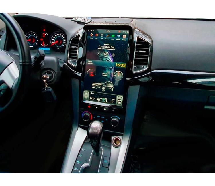 Штатное головное устройство для Chevrolet Captiva 2013 на OS Android 6.0.4, Super Audio