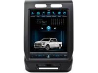 Штатная мультимедийная система в стиле Tesla для Ford F150 на OS Android 8.0.1