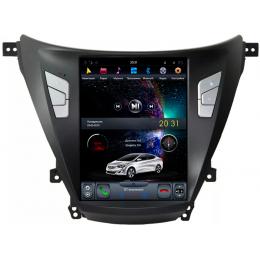 """Штатное головное устройство для Hyundai Elantra 2010-2013 Экран 10,4"""""""