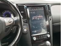 Штатная мультимедийная система в стиле Tesla на OS Android 8.0.1 для Infiniti FX, QX70