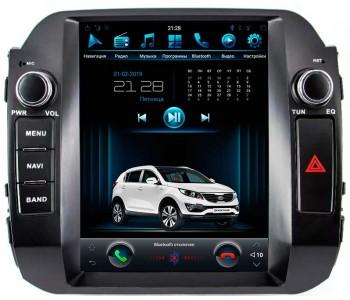 """Штатное головное устройство для Kia Sportage III Экран 10,4"""""""
