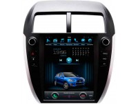 Штатное головное устройство в стиле Tesla для Mitsubishi ASX, Citroen C4 Aircross, Peugeot 4008 на OS Android 9.0.1