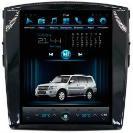 """Штатное головное устройство для Mitsubishi Pajero IV Экран 12,1"""""""