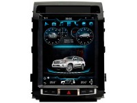 Штатное головное устройство для Toyota Land Cruiser 200 Дилерский на OS Android 9.0.1, Super Audio