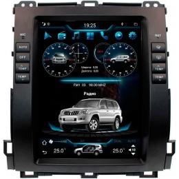 """Штатное головное устройство для Toyota LC Prado 120 Экран 10,4"""""""
