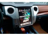 Штатное головное устройство в стиле Tesla для Toyota Tundra на OS Android 9.0.1