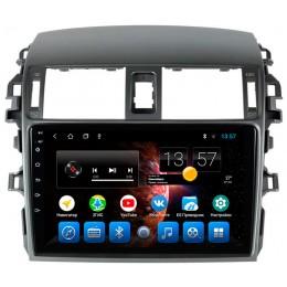 """Штатное головное устройство для Toyota Corolla E150 Экран 9"""""""