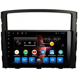 """Штатное головное устройство для Mitsubishi Pajero IV 2006-2018 Экран 9"""""""